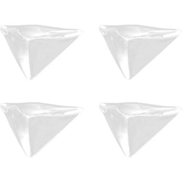 Safety 1st Меки прозрачни протектори за ъгли и ръбове (4бр./оп.)
